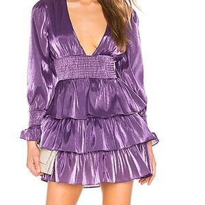 NEW! NEVER WORN Purple lovers and friends dress